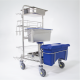 SAT Precision Dosing Cart Product Picture of Side Front View