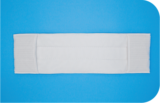 Heavy weight cleanroom pocket mops with super reinforced pockets.