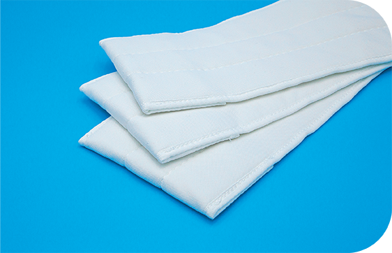 Medium weight pocket mops that offer high absorbency and coverage for enhanced worker efficiency.